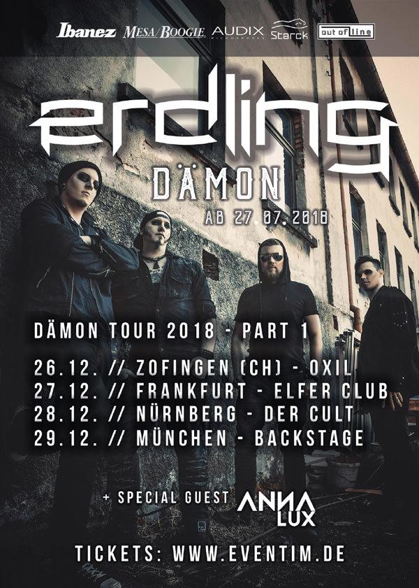 ERDLING Dämon Tour 2018