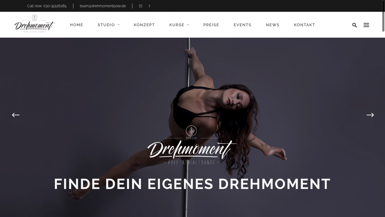 DREHMOMENT BERLIN Pole Aerial Dance