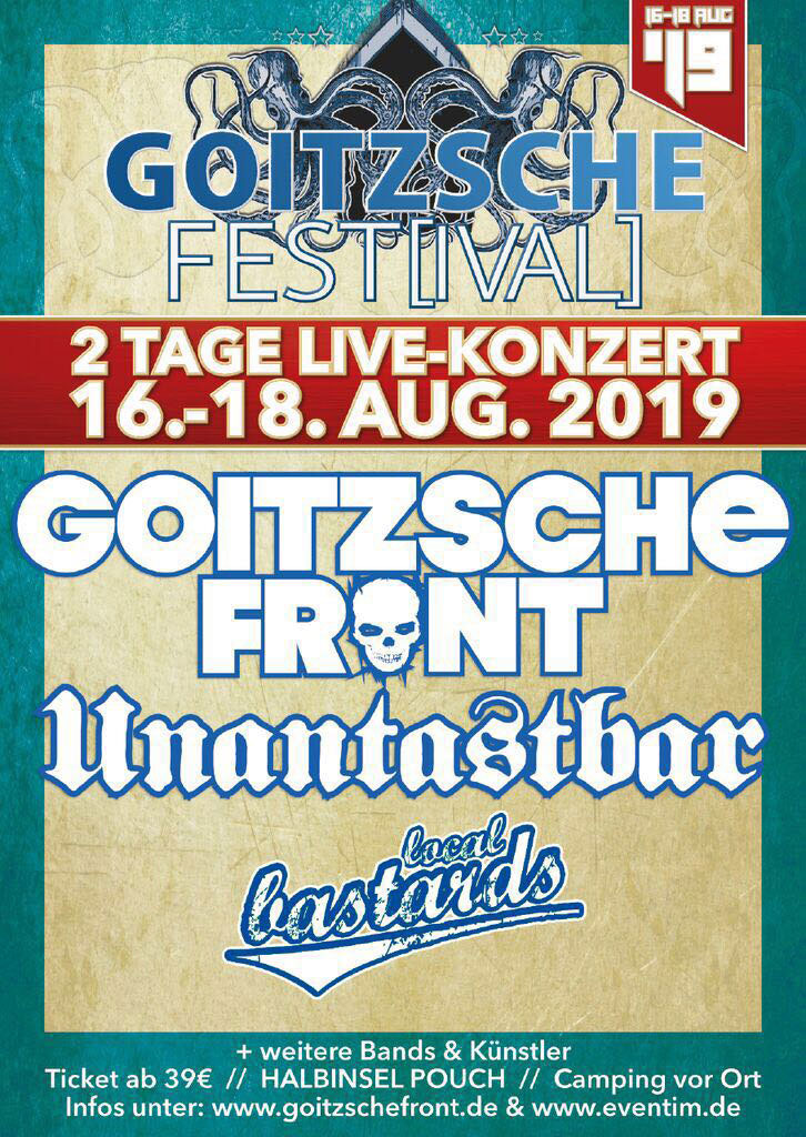 Goitzsche Front 2019