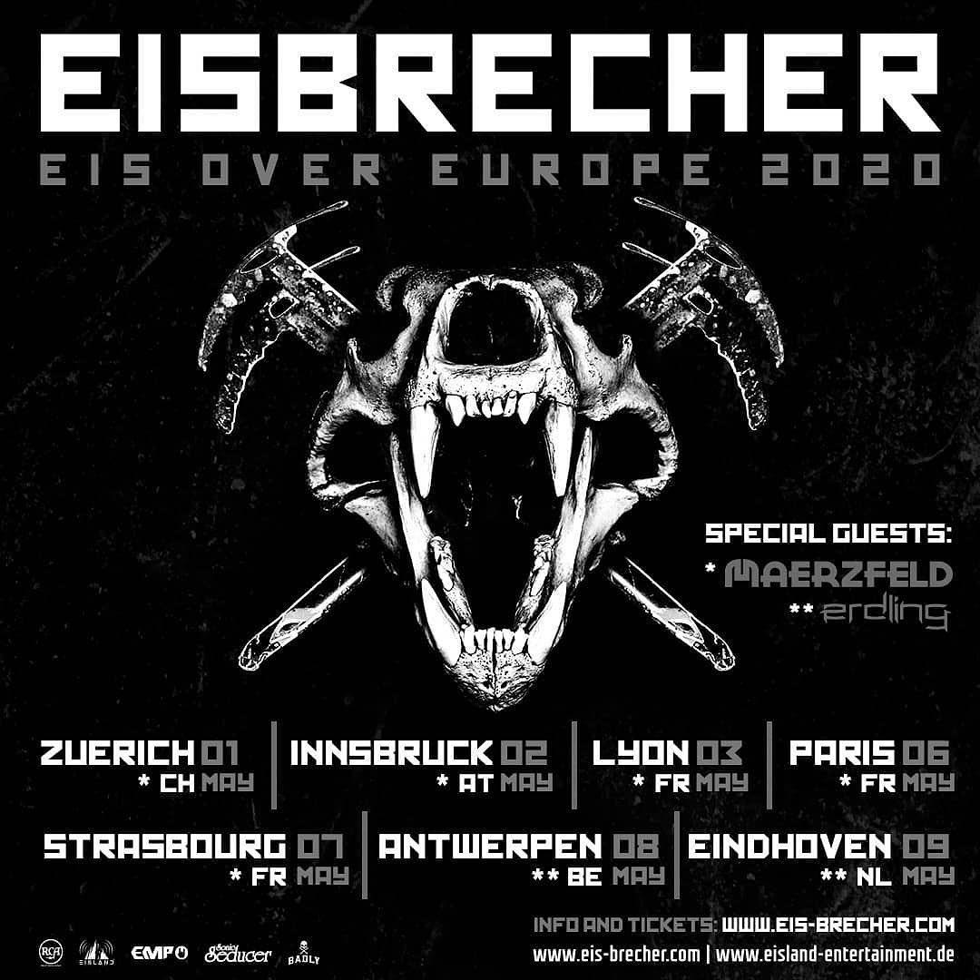 ERDLING - Eisbrecher Eis Over Europe 2020